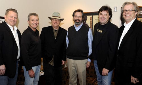 Pictured, from left to right, are Bub, Thomas, Wasner, VP of Museum Programs Jay Orr, Gill and Museum Director Kyle Young. Photo: Donn Jones