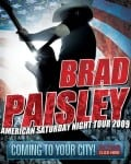 Paisley Starts American Saturday Night Tour