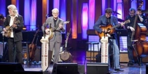 John McEuen, Steve Martin, Vince Gill 2009 Copyright Grand Ole Opry Photo: Chris Hollo