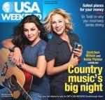 Kellie Pickler, Gretchen Wilson Have USA Weekend Covered