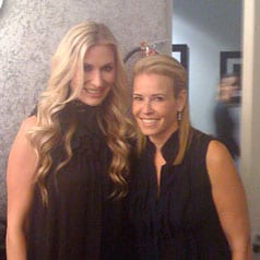 Holly Williams recently visited E's Chelsea Lately (pictured here with host Chelsea Handler). She will also perform, interview and sign autographs tomorrow (6/3) at 1:30 PM at the Country Music Hall of Fame, followed by her Grand Ole Opry debut that night.