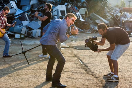 "Craig Morgan recently shot the video for his single, ""Bonfire,"" where he surprised bystanders in a variety of locations with impromptu performances. The video is said to be a cross between Jackass and Candid Camera."