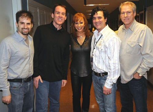 Photo attached features (from l-to-r): Jay Frank- Senior Vice President, Music Strategy, CMT; Brian Philips – President, CMT; McEntire; Scott Borchetta - President and CEO of Big Machine Records and The Valory Music Co.; and John Hamlin - Senior Vice President, Production and Development, CMT   Photo credit: Rick Diamond