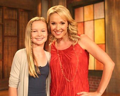 """Mackenzie Adkins, 11 year-old daughter of Trace Adkins, will be """"CMT Insider's"""" special correspondent this weekend as she brings host Katie Cook a report about Warner Bros. action-adventure comedy film, Shorts. The film hits theatres nationwide on Saturday, August 15. """"CMT Insider"""" airs Saturday at 12:30 PM/CT and Sunday at 10 AM/CT."""