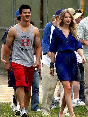 Swift has been photographed in several scenes alongside Taylor Lautner, who starred in the blockbuster Twilight.