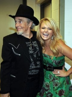 "Lambert began last week by performing a ""Twinkle Twinkle Lucky Star"" as a salute to Merle Haggard at the 2009 ACM Honors Awards."