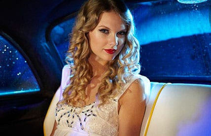 You can also catch Swift on Sunday night's (9/13) MTV VMAs. Pictured here in an ad for the Awards show.