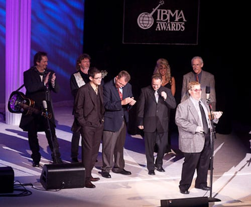 Michael Cleveland and the Flamekeepers took home five awards at last night's (10/1) IBMAs.