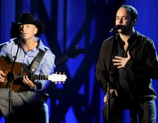Kenny Chesney and Dave Matthews