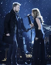 Charles Kelly and Hillary Scott of Lady Antebellum