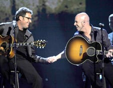 Vince Gill and Chris Daughtry