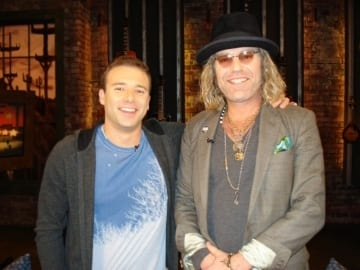 Smith and Big Kenny on a recent episode of CMT Top 20 Countdown. Photo: Ben Wilder