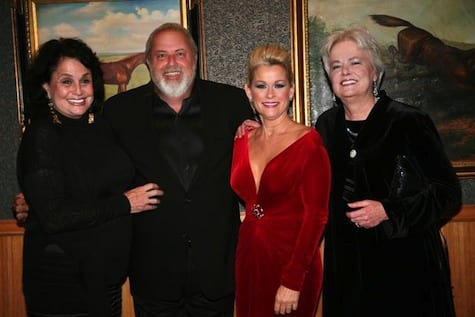 Country Crossing co-President Susan Nadler, Ronnie Gilley Entertainment President James Stroud, Country Crossing artist Lorrie Morgan, Country Crossing co-President Evelyn Shriver