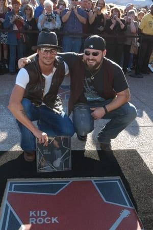 Kid Rock and Zac Brown Photo: Alan Mayor