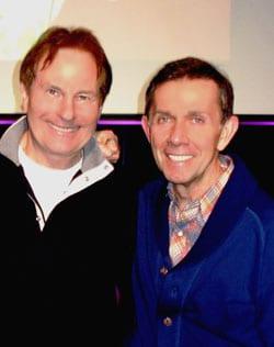 Waugh and Sony Music Nashville Chairman Joe Galante