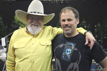 Charlie Daniels and director Chad Denning