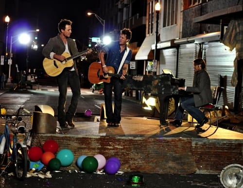 love and theft dancing in circles. Love And Theft on the set of their new video. Photo: Ashley Heron