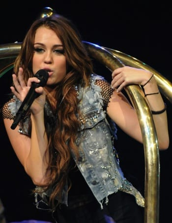 Miley Cyrus was the first performer to use paperless ticketing for an entire tour.