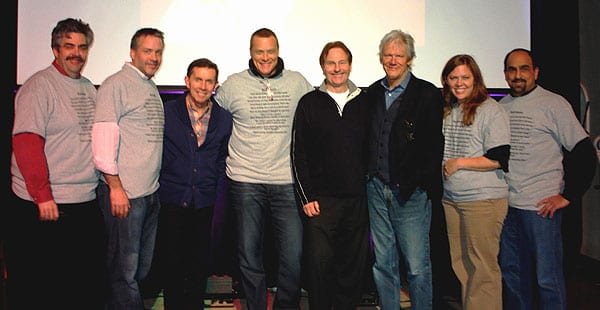 VP Marketing Tom Baldrica, VP RCA Nashville National Promotion Keith Gale, Chairman Joe Galante, VP BNA Records National Promotion Bryan Frasher, Waugh, VP Promotion Skip Bishop, Dir. of Arista Nashville National Promotion Lesly Tyson, Senior VP Sales & Operations Paul Barnabee