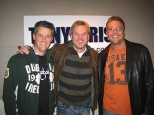 Phil Vassar couldn't wait to welcome Tony & Kris to town so he popped into their studio and spoke with the guys this morning!