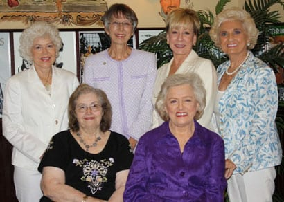 Ruth White (Front row, far left), along with her fellow SOURCE Honorees in 2010, Frances W. Preston, Carol Phillips, Liz Thiels, Celia Froehlig, and Sherytha Scaife. Photo: Denise Fussell