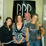 Pictured (L-R): BBR's A&R/Artist Development Tina Crawford, Magic Mustang's Creative Director Juli Newton-Griffith, BBR CEO/President Benny Brown and Kristy Lee Cook.