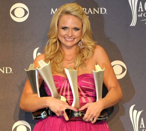 miranda lambert acm awards. Miranda Lambert was the big