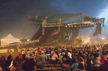 The Indiana State Fair stage collapse.