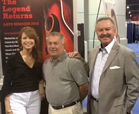 Crook And Chase With Henry Luken At The Nab Convention