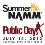 Summer NAMM Coming in July
