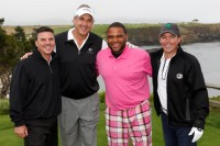 Pictured (L-R): Mike Kennedy, Jeff Garrison, Anthony Anderson, Clay Walker