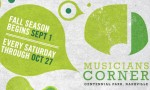 Musicians Corner Returns For Fall Season in September