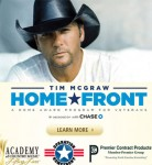 McGraw Gives Exclusive Interview About Homefront Program