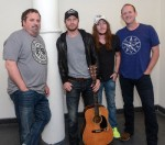 Bentley Plays Songwriters Show, Visits NYC School