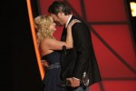 Miranda Lambert and Blake Shelton. Photo: Donn Jones/CMA