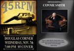 45 RPM To Salute Connie Smith Tomorrow Night
