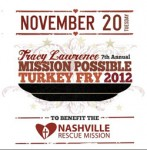"Tracy Lawrence to Host 7th Annual ""Mission Possible"" Turkey Fry"