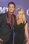 Luke Bryan with wife Caroline