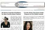 Aristo Int'l Report: New Country Music Festival, Global Accolades