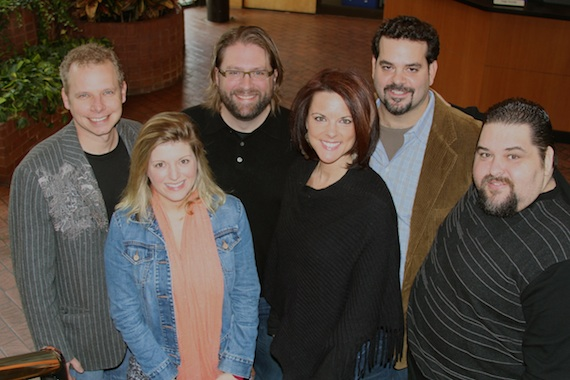 Pictured (L-R): Cory Gierman (writer/manager) Andi Zack, Chip Petree (attorney/Petree Law), Alyssa Adams (Creative Director/Diamond Eye Music), Chris Burch (CEO & Owner/Diamond Eye Music), Tim Fink (Vice President Writer Relations/SESAC)