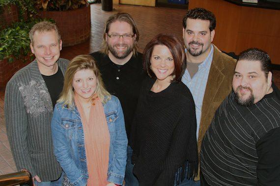 Pictured (L-R): Cory Gierman (writer/manager) Andi Zack, Chip Petree (attorney/Petree Law), Alyssa Adams (Creative Director/Diamond Eye Music), Chris Burch (CEO & Owner/Diamond Eye Music), Tim Fink (Vice President Writer Relations/SESAC)