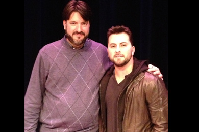 """Tyler Farr recently visited with WGNA PD Tom Jacobsen in Albany during his acoustic tour. Farr's """"Redneck Crazy is expected as an upcoming single from the Columbia Nashville singer."""