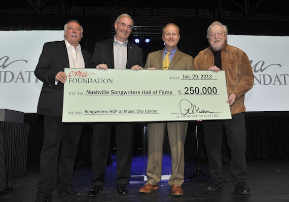 CMA Foundation and Nashville Songwriters Hall of Fame