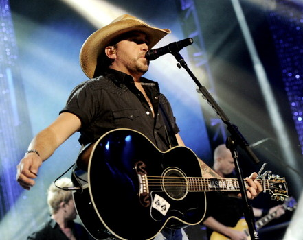 Jason Aldean on New Year's Eve