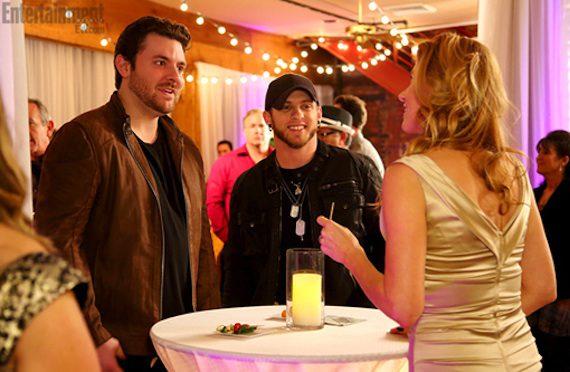 Chris Young and Brantley Gilbert on 'Nashville.' Photo: ABC/Chris Hollo