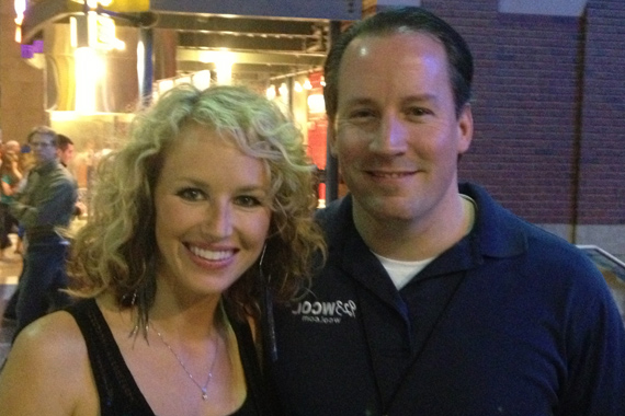 "Kristen Kelly recently spent time with WCOL APD/MD Dan E. Zuko at the Columbus, OH stop of Rascal Flatts' 2013 ""Changed"" tour. Kelly lands at No. 59 with ""He Loves To Make Me Cry."""
