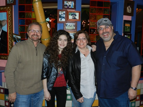 Pictured (L-R):  Frank Myers, Kelsey K, Tonya Ginnetti and Jimmy Nichols