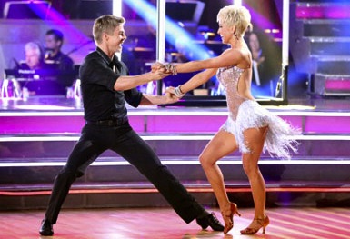 Kellie Pickler and dancer Derek Hough