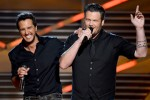 48th Annual ACM Hosts, Luke Bryan and Blake Shelton. Photo: Ethan Miller