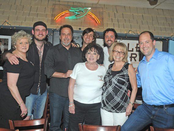 Pictured (L-R): Karen Sturgeon, Nick Sturms, Doug Johnson, John King, Judy Harris, Bad Tursi, Karen Conrad, Hunter West.